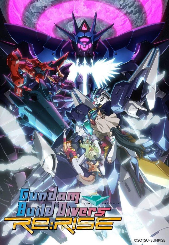 ซีรี่ย์อนิเมะญี่ปุ่น Gundam Build drivers RE RISE